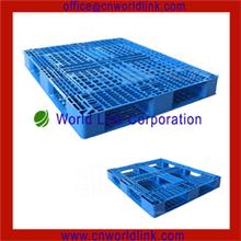 polietileno de alta densidad de almacén de acero reforzado con 6 corredores palets