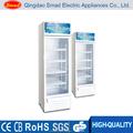 Porta de vidro geladeira refrigerador de bebidas / de vidro vitrinas / visor de vidro vitrine