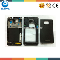 Full Housing For Samsung Galaxy S2 i9100, For Samsung I9100 Galaxy SII Housing Cover, Spare Parts For Samsung Galaxy S2