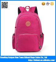 China alibaba soft day backpack sport backpack women nylon teens school bag