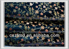 100% polyester floral jacquard embroidery shoes fabric