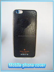 OEM/ODM Factory Directly Genuine Leather Mobile Phone Case, Wholesale Mobile Cover for iphone 6