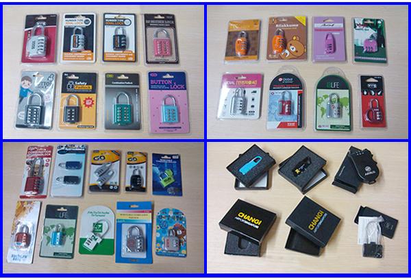 CJSJ brand safety travel products advanced resetable 3 numeric digital lock