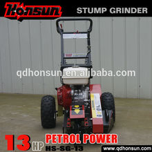( sa- sg- 13h) honda gx390 13hp motor de gasolina amoladora del tocón para la venta