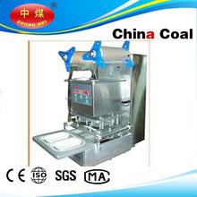 food plastic tray sealing machine cup sealer