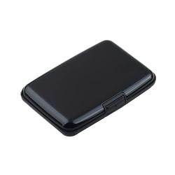 Waterproof Business ID Credit Card Wallet Holder Aluminum Metal Card Case Box