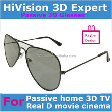 Passive Real D style Circular plarized 3d glasses