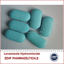 2014 hot sale 150mg 300mg Levamisole hcl tablet for cattle medicine animal medication