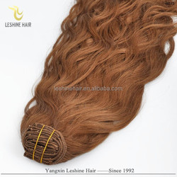 Golden Supplier Support Customize Top Quality natural way clip in extensions