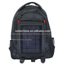 new style solar power charging pannel back packs for laptop