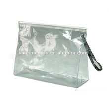 Cheapest plastic bags printing clear travel pouch