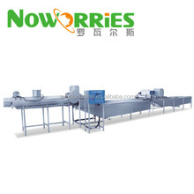 Cooking and cooling drying line