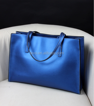 Hotselling2015 fashion ladies handbag genuine leather bag wholesale