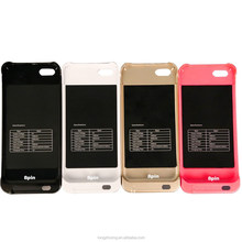 high quality colorful battery charger case for i5,5c,5s on hot sales in alibaba