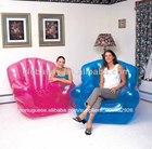Baratos inflável cadeira vermelha/ar cadeira do saco