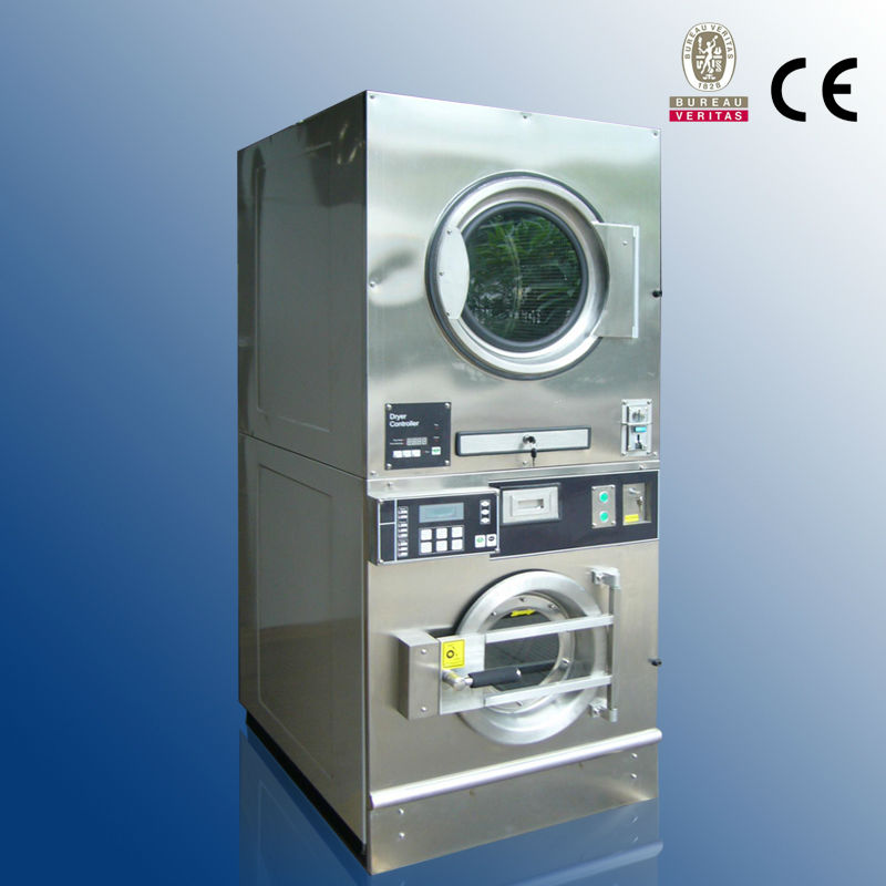 Commercial Stackable Coin Operated Washer And Dryer On ...