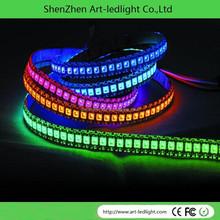 DC5V LPD6803 IC controlWS2812B led WS2812B led strip node,addressable;IP66,50pcs a string;one piece 50 RGB WS2812B led ,0.24W