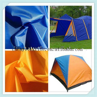 100% polyester taffeta silver coating for tent