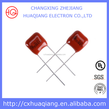 Super Competitive Subminiature Capacitor 104K 250V 0.1UF 104 10% Polyester film capacitor 104J 250V