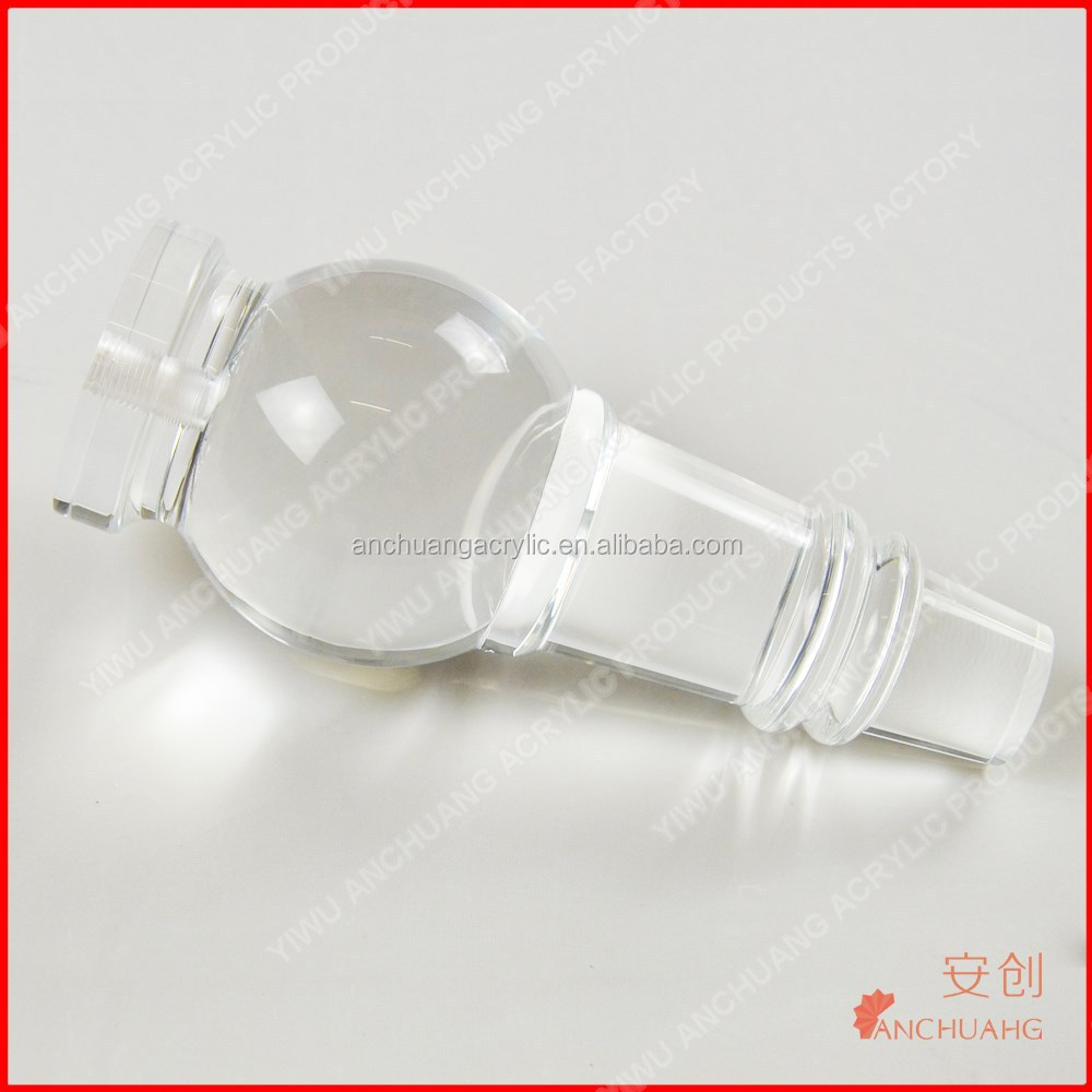 Clear Acrylic Furniture Legs transparent High Quality
