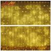 Festival waterproof led light curtain decor widow use led lights
