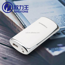 5200mAh portable Back Up Battery Pack fashion power bank for iPhone, iPad, iPod, Galaxy Tab