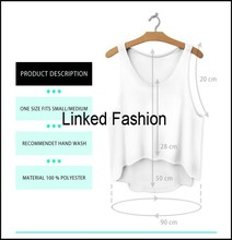 blank crop tops short t shirts with roll sleeve