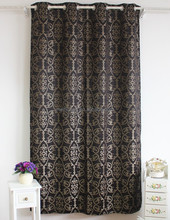 2015 new polyester jacquard curtain