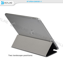 slim leather pc cover and pu leather cover case for ipad air 2