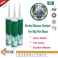 GIRAFE RTV-1 Transparent acidic silicone sealant for big flat glass