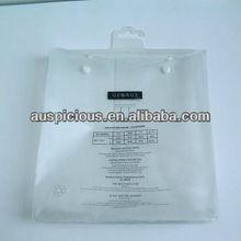 Transparent Plastic PVC Hanger Bag for Garment