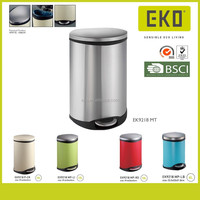 Soft Close Steel Decorative Trash Can