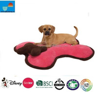 Plush Bone Shaped Dog Bed With Pillow