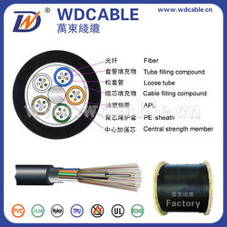 cheap goods from china GYTA aerial and duct 144 core fiber optic cable