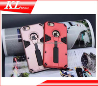 New arrival finger grab tpu pc kickstand mobile phone case for iphone cover