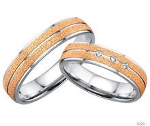 Factory Wholesale gold plated fashion jewelry 3 carat diamond ring