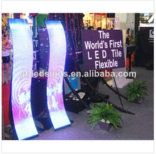 flexible led video display/full color flexible led display/flexible led display screen video