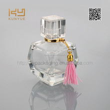 wedding gift perfume bottle with ornament