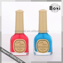 Popular Colors Fashion Colors Nail Polish Glass Bottles In India