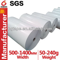 single/double side PE coated paper for adhesive product