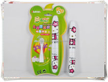 Hot Selling Novelty Baby/kids Toothbrush OEM Travel mini Toothbrushes with cap