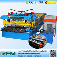 FX glazed metal roofing tile making machines for sale