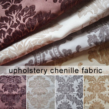 de gama alta de la india clásica de estilo de jacquard chenilla tela de tapicería 2014 nueva llegada