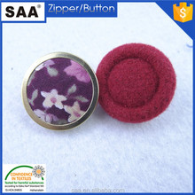 25mm big fabric cloth covered button shank button for DIY garment decoration
