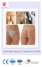 High Quality and Sexy Lady Spa Tanning , Beauty Care Product Disposable G String/Brief/Panty/Thong/Tanga For Trade Assurance