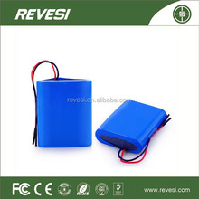 REVESI wholesales rechargeable li-ion battery pack lifepo4 li-ion battery pack 12v 30ah