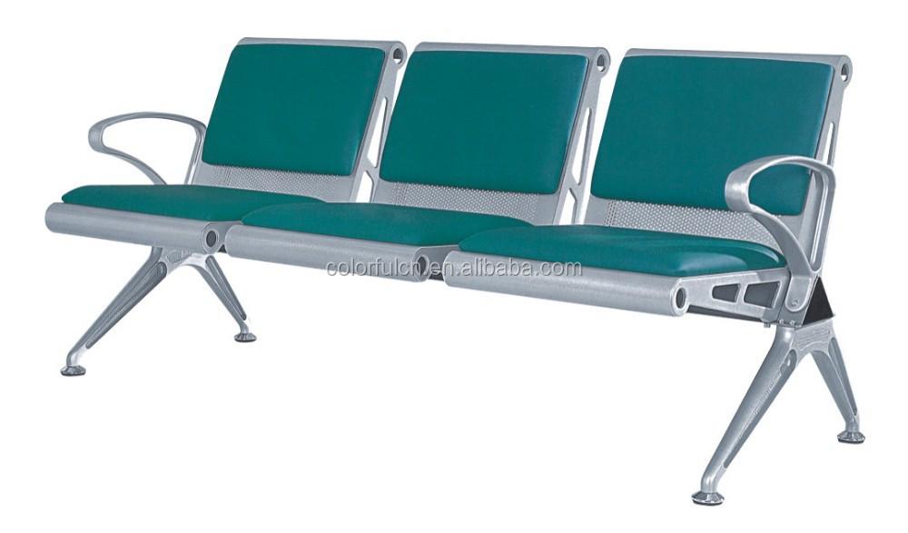 solide simple de coiffure chaises d 39 attente trois places chaise attente ya 29a chaises en. Black Bedroom Furniture Sets. Home Design Ideas