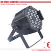stage par64 light 18*10w led rgbw par can with barn door