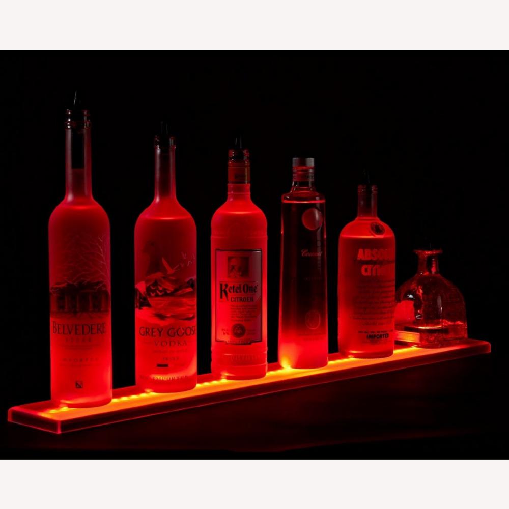 83 inch acrylic led lighted liquor shelf bottle display 6. Black Bedroom Furniture Sets. Home Design Ideas