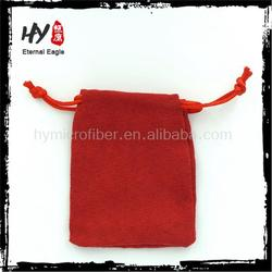 New products different type of microfiber velvet gift pouch, jewellery pocket, different type of microfiber velvet gift pouch